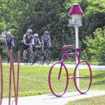 Cyclists cross country to cure cancer