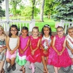 Little Miss Strawberry Festival contestants