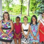 Young Miss Strawberry Festival contestants