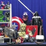 Superheroes to visit the London Public Library