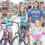 Readers rewarded with bicycles