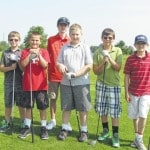Weather cooperates for junior golfers