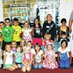 Newport Methodist VBS donates to pantry