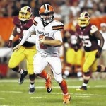 McCown has TD pass, Manziel finds end zone on run in Browns' loss