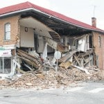 Building collapses in West Jeff