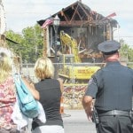 Partially-collapsed building in West Jefferson demolished