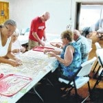 Newport United Methodist Church preps noodles for fall supper