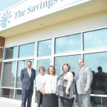 Savings Bank ready for business