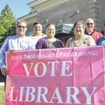 Staff urges library support on Nov. 3