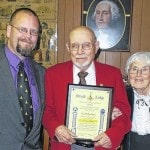 Mason honored for 50-year membership