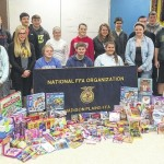 Madison-­Plains FFA members collect gifts for Nationwide Children's Hospital