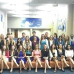 Tolles inducts 24 into honor society