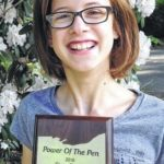 Hirshberg places fourth at Power of the Pen