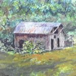 Painting old homesteads