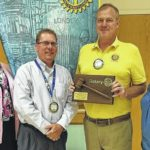 Rotary installs new officers
