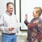 Baynes sworn in for library, museum