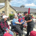 Flag ceremony honors local veterans