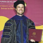 White received his Ph.D. in Kinesiology