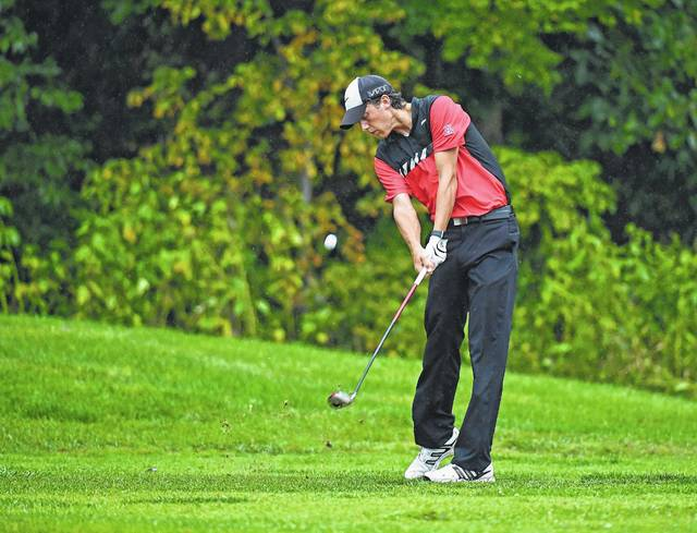 Jonathan Alder's Giuseppe Petrella was his team's low scorer with a round of 79 at the D-II sectional tournament held at The Players Club at Foxfire Tuesday.
