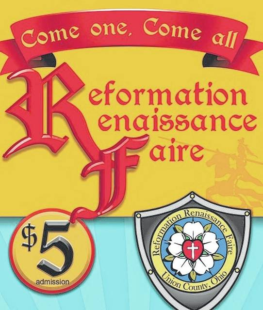 St. John's Lutheran Church of Marysville will host a six-day Renaissance Faire at Pastime Park in Plain City starting on Saturday, Sept. 23.