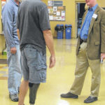 Stivers speaks at prosthetic manufacturing plant