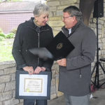 Local outdoor writer presented with ODNR's Cardinal Award