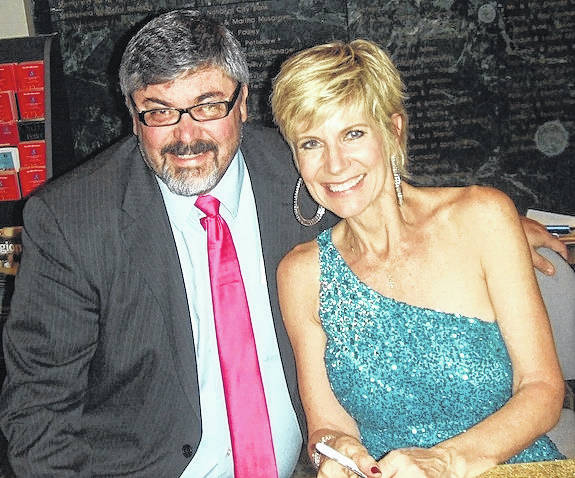 Columnist Jeff Gates interviewed Debby Boone when she performed in Springfield, Ohio a few short years ago. An autographed eight-track tape of the singer is displayed proudly in his office.