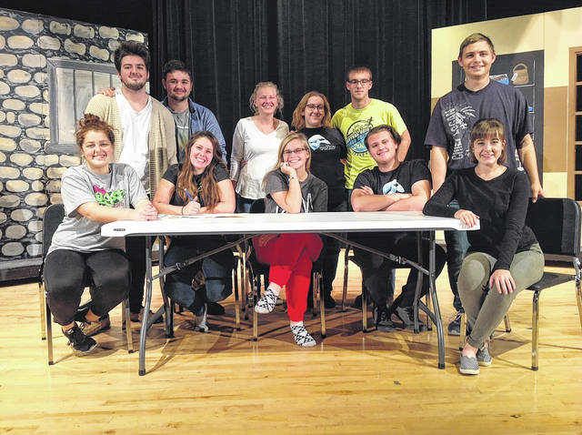 """The cast of the London High School fall drama, """"Barbecuing Hamlet,"""" will be hosting a barbecue rib dinner prior to the performance at 6 p.m. on Friday, Nov. 17 in the London High School Commons. The show will follow in the school's Joyce Hildebrand Auditorium. Cost for the dinner-theatre is $15. Tickets are on sale tonight and Wednesday from 5-7 p.m. in the London High School Commons, or from members of cast until Friday."""