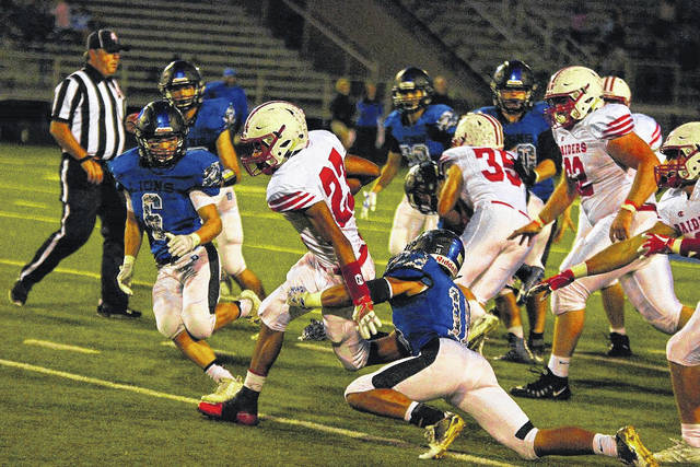 London junior running back K.J. Price was a first team Division IV All-Ohio selection.