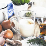 Eggnog safe to drink if pasteurized or cooked