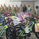 Inmates built bikes donated to area kids