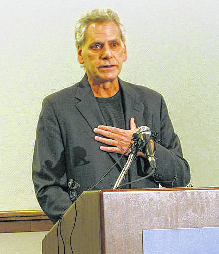 """Jimmy Gould, CEO of CannAscend, announces on Monday, Dec. 11 a push to place a new Ohio marijuana legalization effort on the ballot in Columbus. The 2018 """"Regulate Marijuana Like Alcohol"""" amendment would make growing, processing, possessing, selling and using marijuana legal, and legalize the growing of hemp. Gould was not granted a grower's license for the state's medical marijuana program last month and has been critical of the state Commerce Department's handling of the process."""
