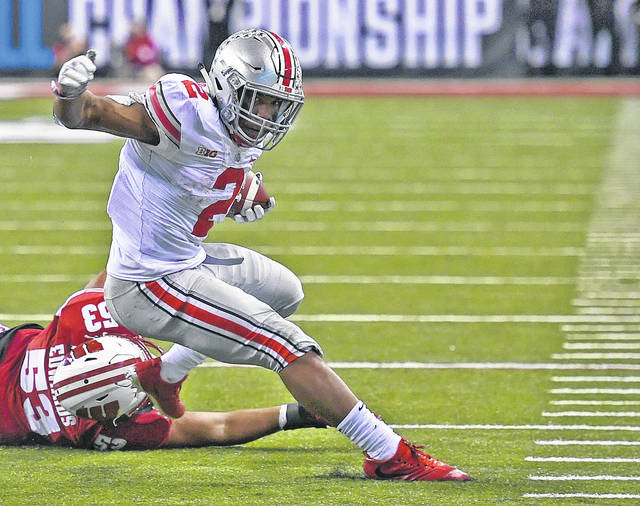 Ohio State freshman J.K. Dobbins will look to lead a potent Buckeyes running game into its Cotton Bowl matchup with University of Southern California Friday, Dec. 29.