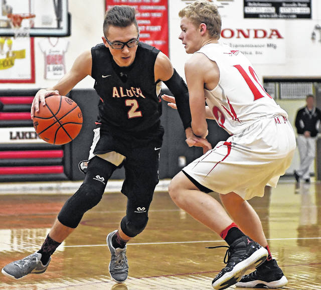 Jonathan Alder's Cameron Androw will lead the Pioneers into a holiday tournament at Grandview Dec. 28-29.