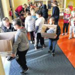 London Elementary School holds food drive