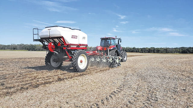 One method for accurate nutrient placement is placing phosphorous below the soil surface via strip-till.