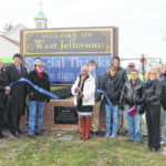 New West Jeff community sign dedicated