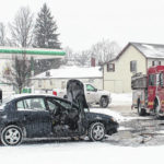 Winter weather causes crashes