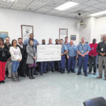 Inmates donate money to violence prevention