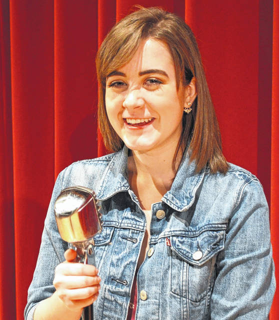 Always comfortable behind the microphone, London High School senior Ruth Peart will offer a free vocal recital at 6 p.m. on Saturday, April 14 at in the school's Joyce Hildebrand Auditorium.