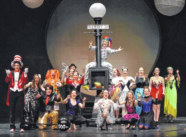 """The talented actors of Jonathan Alder High School will present the zany """"Seussical"""" this weekend."""