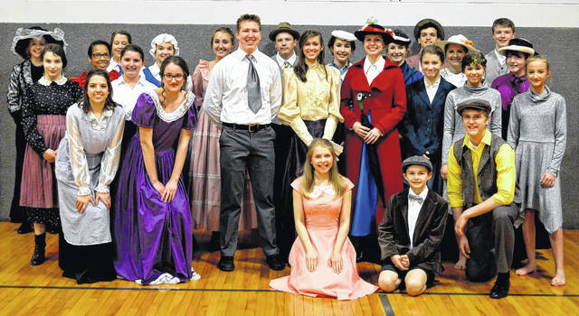 "Shekinah Christian School brings theatrical magic to the stage this weekend with ""Mary Poppins Jr."""