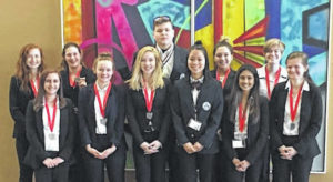 Tolles students win at state HOSA competition