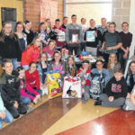 London Middle Schoolers collect donations for humane society