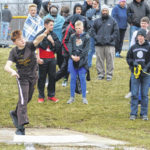 County shines in weather-shortened meet