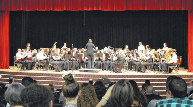The London High School Concert Band under the direction of Amanda Tobias presented their annual Spring Concert on Monday, May 7 in the London High School Joyce Hildebrand Auditorium. The group includes students in eighth through 12th grade.