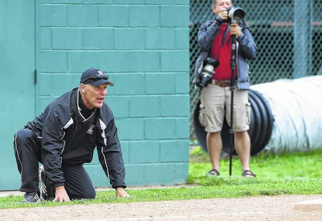Jonathan Alder softball coach Dave McGrew has his team back in the D-II regional tournament. The Lady Pioneers will meet Kenton Ridge Wednesday, May 23 at Mason High School starting at 5 p.m.