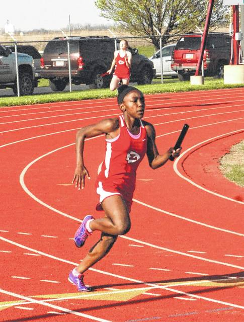 London's Destiny Clifton advanced to the Division II regional championship meet which will be held Thursday and Saturday at Lexington High School.