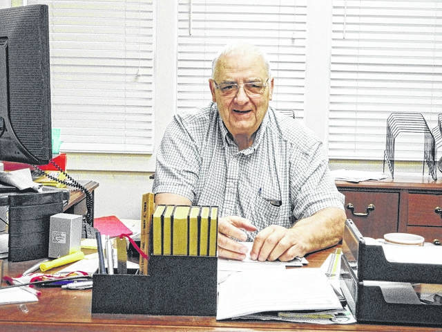David Eades in his office in 2015. Eades passed away Tuesday at the age of 77.