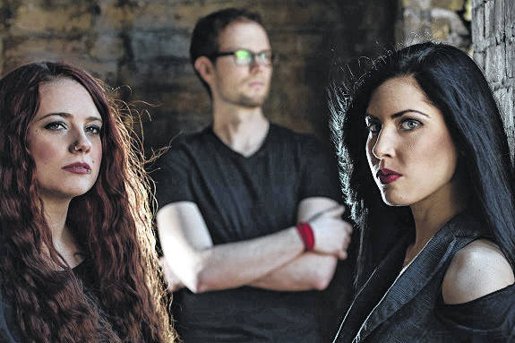 Members of Rose Cora Perry & The Truth Untold are from left: Amber Gorham, bass and backing vox, Tyler Randall, drums and Rose Cora Perry, vox, guitar, songwriter.